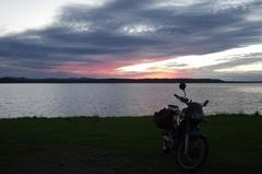 クッチャロ湖日没後1.jpg