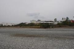 ビーチから道の駅パーク七里御浜.jpg