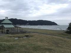 北浜海岸キャンプ場から富浦港.jpg