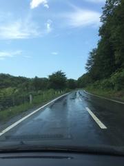 国道239号快晴なのに雨.jpg