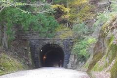 天城トンネル南側歩行者と車.jpg