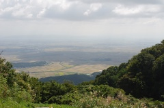 弥彦山スカイライン山頂手前駐車場から新潟平野.jpg
