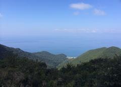 弥彦山スカイライン山頂手前駐車場から日本海.jpg