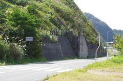 弥彦山山頂駐車場は新潟市.jpg