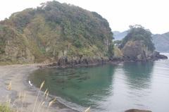 松崎港のとなりのビーチ.jpg