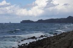 沼前(のまない)地すべり駐車場から神威岬.jpg