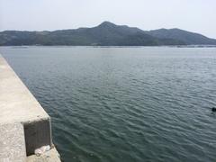 津島鵜の浜釣り糸.jpg