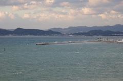 海南港の外防波堤凄い波.jpg
