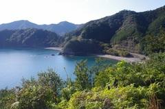 紀伊長島三浦の高台からビーチ.jpg