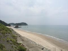 薩摩川内市西方町の海岸南方向薩摩高城方面.jpg