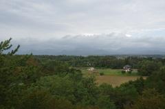 道の駅 みねはま2 ぽんぽこ山公園から白神山地.jpg