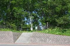 道の駅 スワン44ねむろ散策コース熊出没遠景.jpg