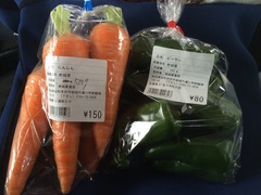 道の駅 岩城7ニンジン150円ピーマン80円.jpg