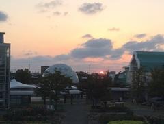 道の駅 新潟ふるさと村日没.jpg
