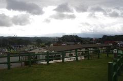 道の駅 象潟(きさかた)2鳥海山は雲の中.jpg