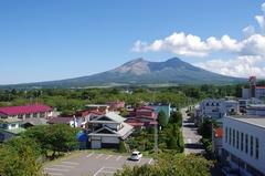 道の駅YOU・遊・もりオニウシ公園から羊蹄山.jpg