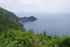 高茂岬駐車場から 南方向 断崖.jpg