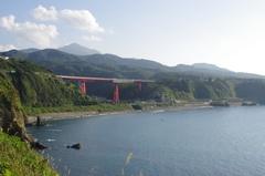 鴎が鼻展望台(恋人岬)から妙高山.jpg